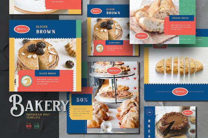 Thumbnail for Neues Konzept Thema - Bäckerei Instagram Post