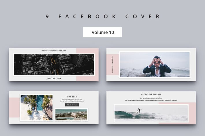 Thumbnail for Facebook Cover Vol. 10