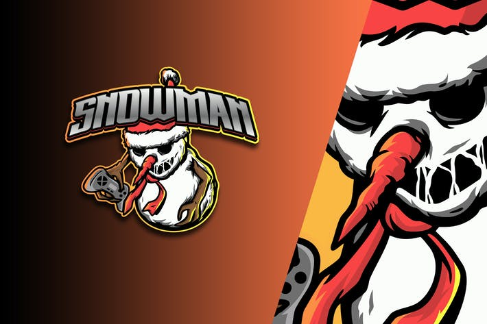 Thumbnail for Snowman Esport Logo Vol. 4