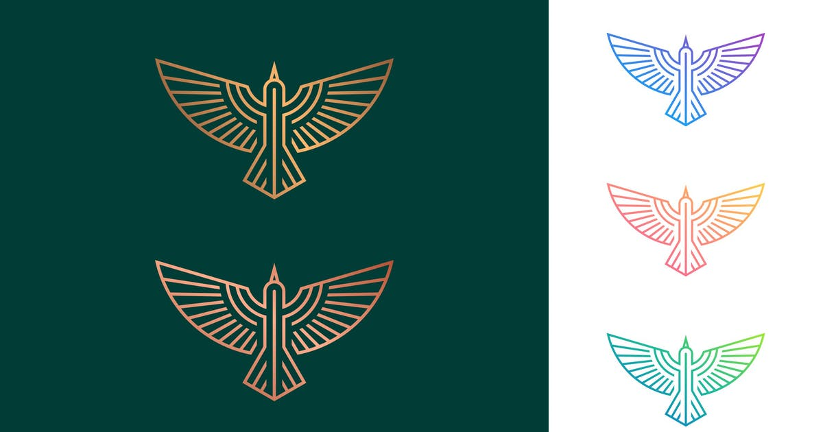 Download Flying Bird lineart by artism_studio