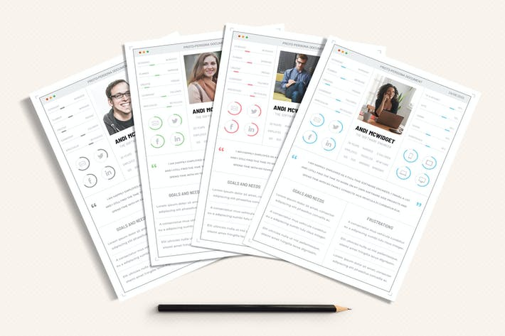 Thumbnail for UX Workflow - Proto-Persona Cards - Volume 02