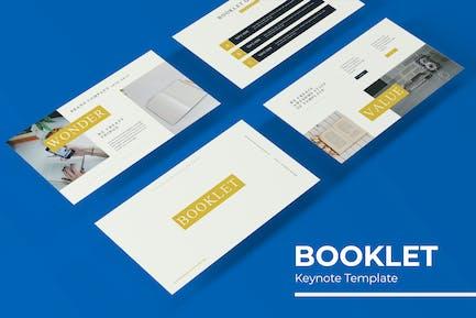 Booklet - Keynote Template