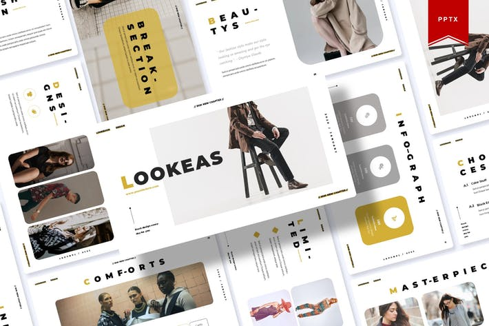 Thumbnail for Lookeas | Powerpoint Template