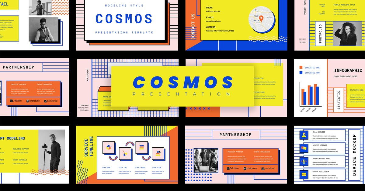 Download Cosmos - Classic Style Keynote Presentation by vectorclans