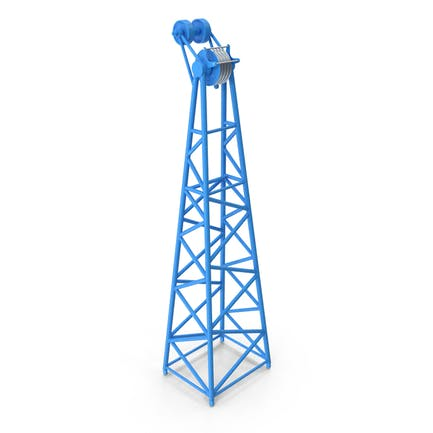Crane F Intermediate Head Section Blue