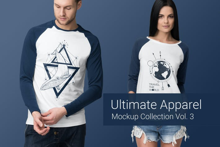 Thumbnail for Ultimate Apparel Mockup Vol. 3