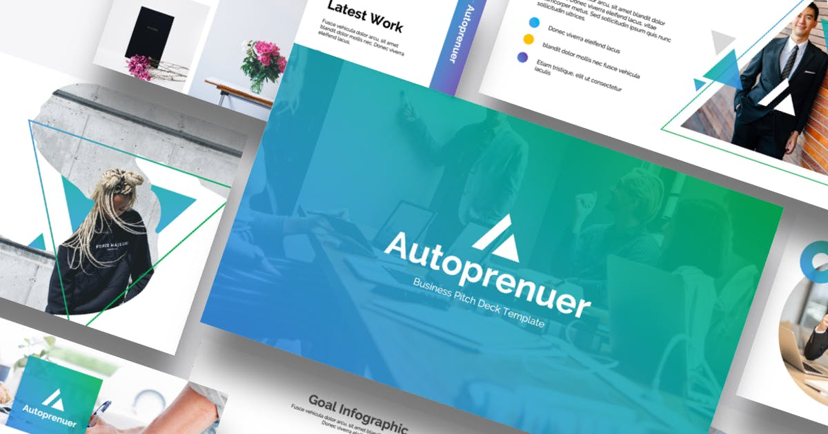 Download Autopreneur - Business Powerpoint Template by MasdikaStudio