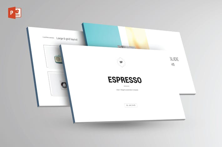 Thumbnail for ESPRESSO - Multipurpose Powerpoint Template V1