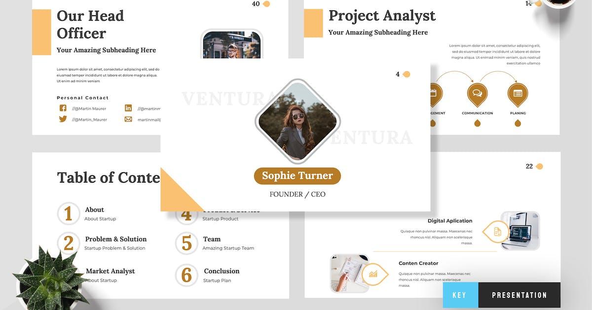 Download Ventura - Startup Keynote Presentation by TMint