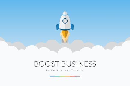 Boost Business Keynote Template