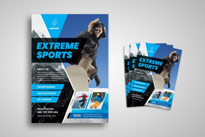 Thumbnail for Extreme Sport Flyer