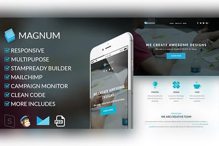 Magnum-Responsive Email Template
