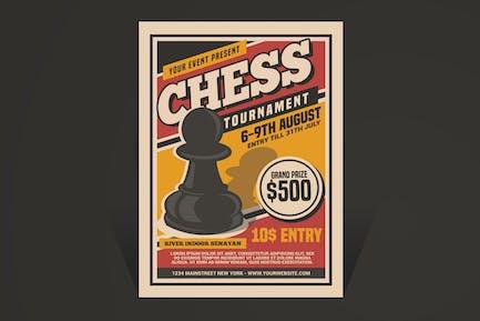 Chess Tournament Flyer Template