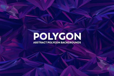 Abstract Polygon Background Colorful Colors