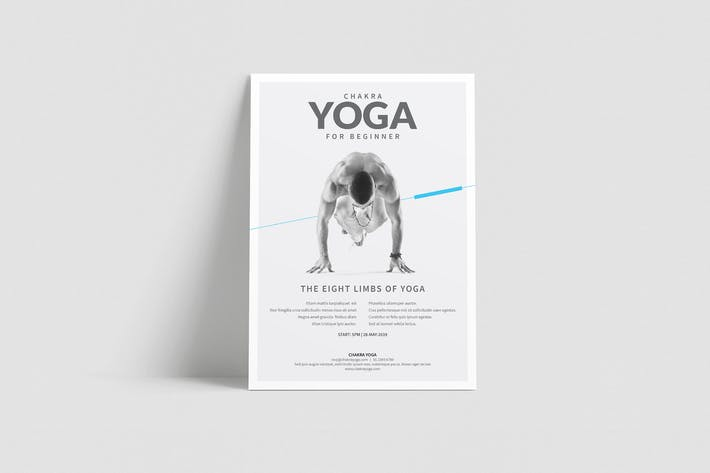 Thumbnail for Yoga Classes Flyer