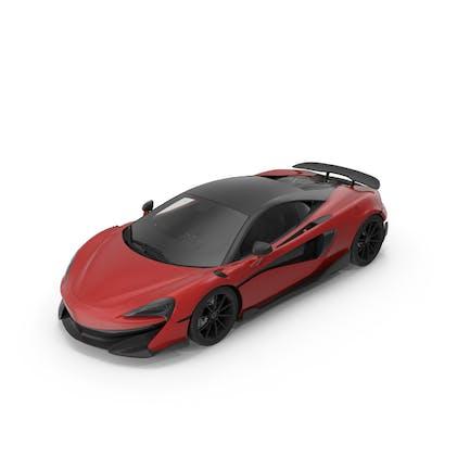 Спортивный автомобиль Красный