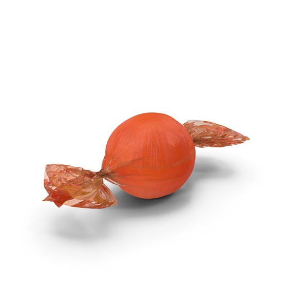 Thumbnail for Wrapped Orange Spherical Candy