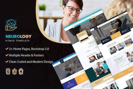 Neurology- Psychology & Counseling HTML Template