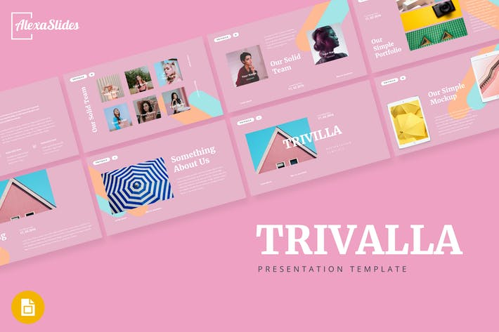 Thumbnail for Trivalla - Creative Google Slides Template