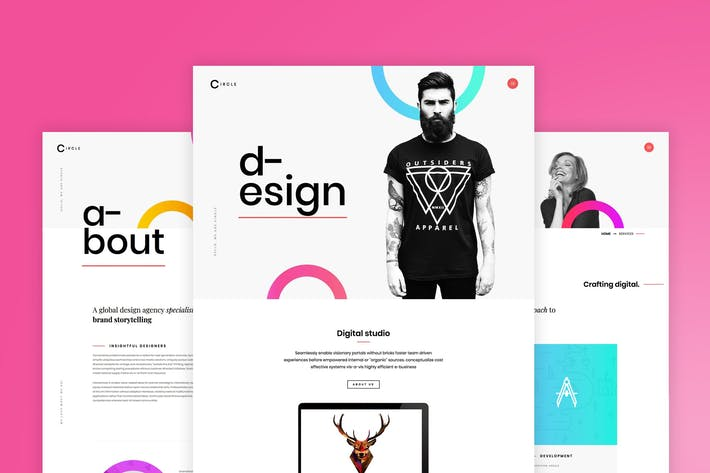 Circle - Creative Portfolio WordPress Theme