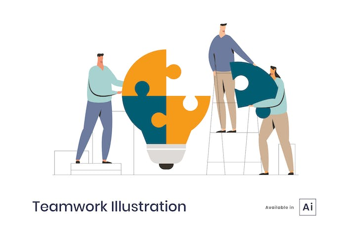 Thumbnail for Teamwork Illustration