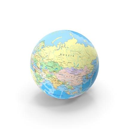 Geopolitical Globe