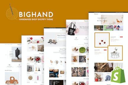 BigHand | Handmade Shop Shopify Theme