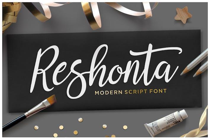 Thumbnail for Reshonta Script
