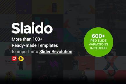 Slaido - Template Pack for Slider Revolution