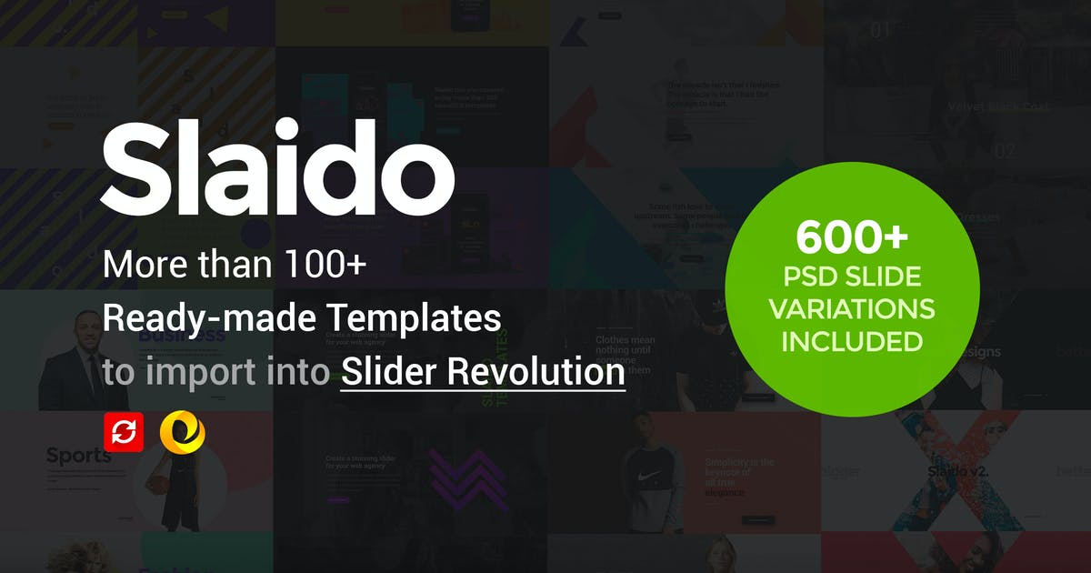 Download Slaido - Template Pack for Slider Revolution by EnergyThemes