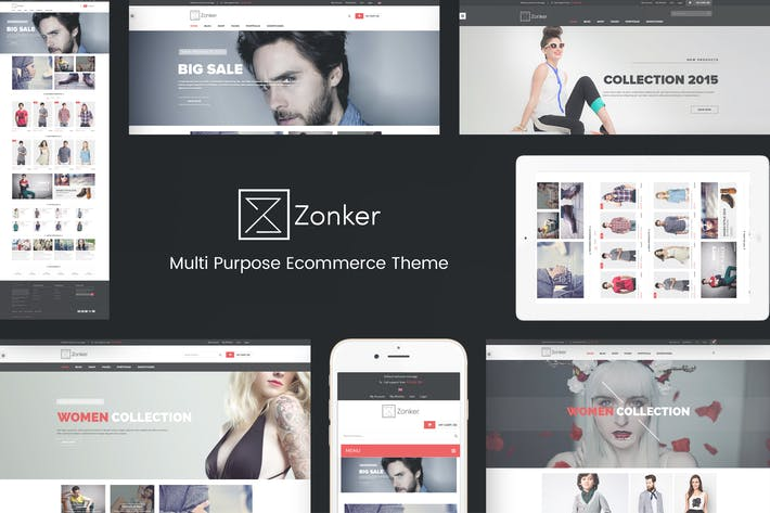 Thumbnail for Zonker - WooCommerce WordPress Theme