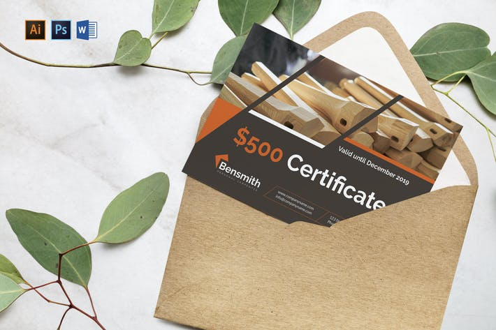 Cover Image For Carpenter Gift Certificate