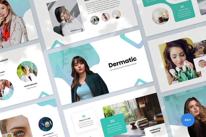 Thumbnail for Dermatology Keynote Presentation Template