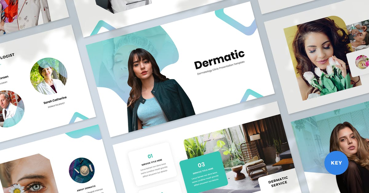 Download Dermatic - Dermatology Presentation Templates by Krafted
