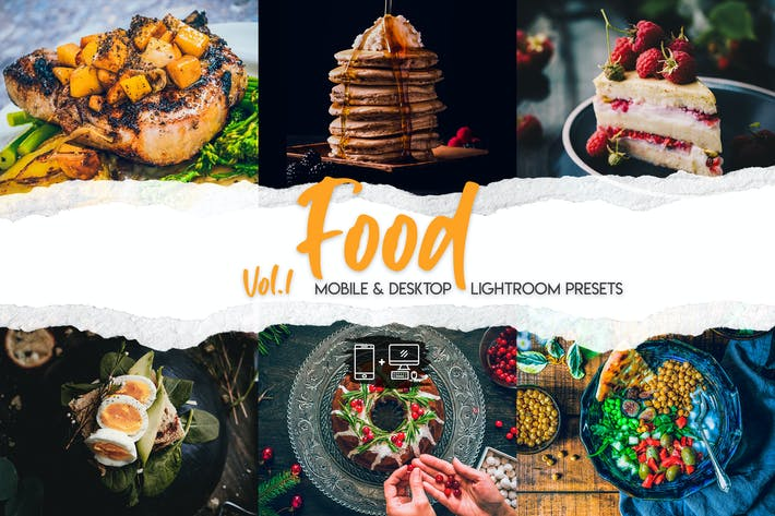 Thumbnail for Food Lightroom Presets Vol. 1