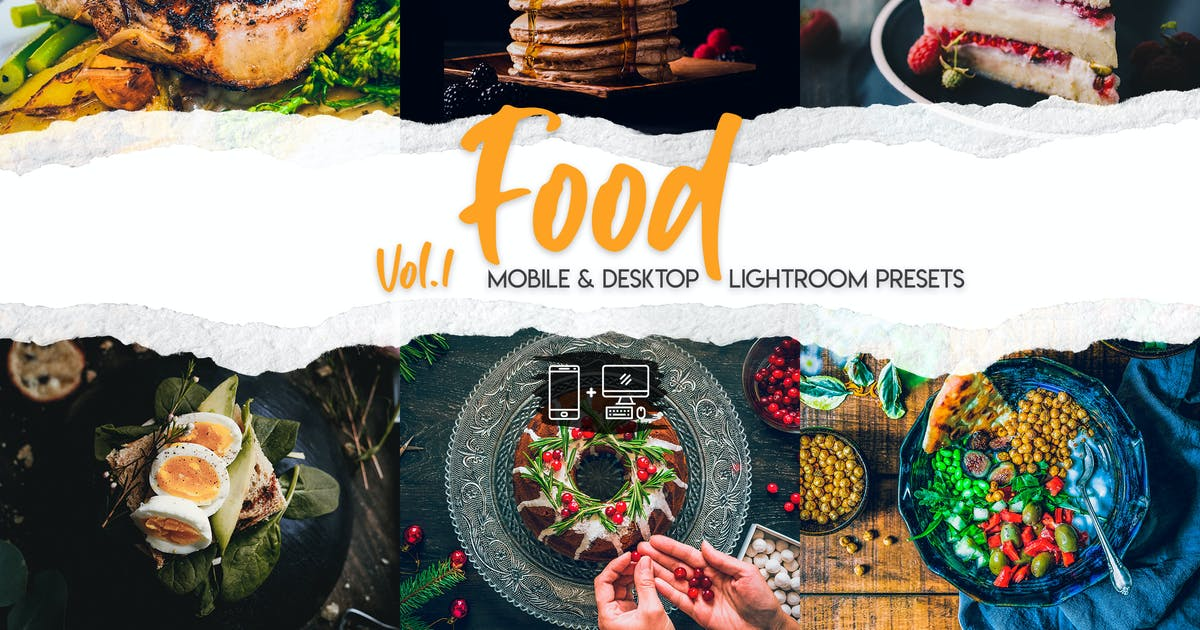 Download Food Lightroom Presets Vol. 1 by ClauGabriel