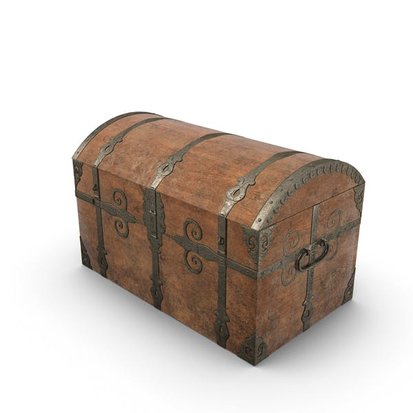 Thumbnail for Medieval Sea Chest-Closed