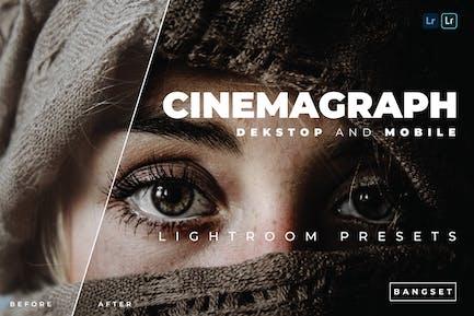 Cinemagraph Desktop and Mobile Lightroom Preset
