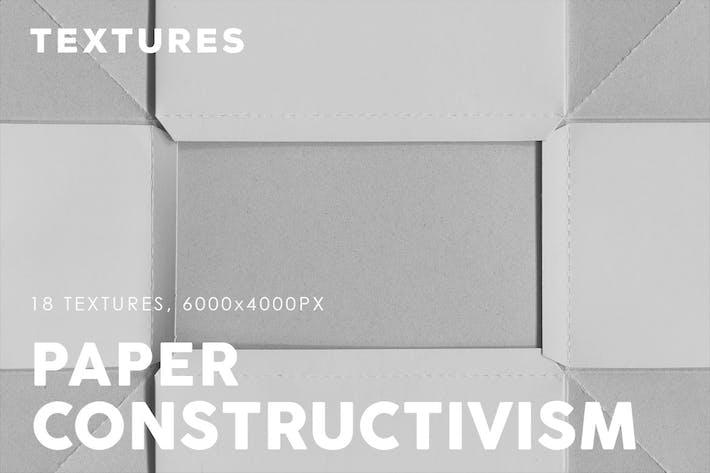 Texturas de papel constructivismo