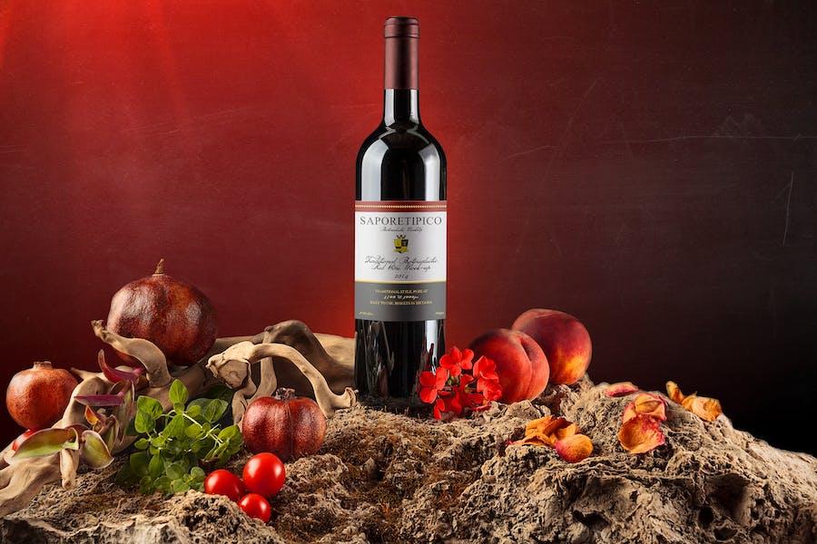 Sapore Tipico - Wine Branding Mock-ups