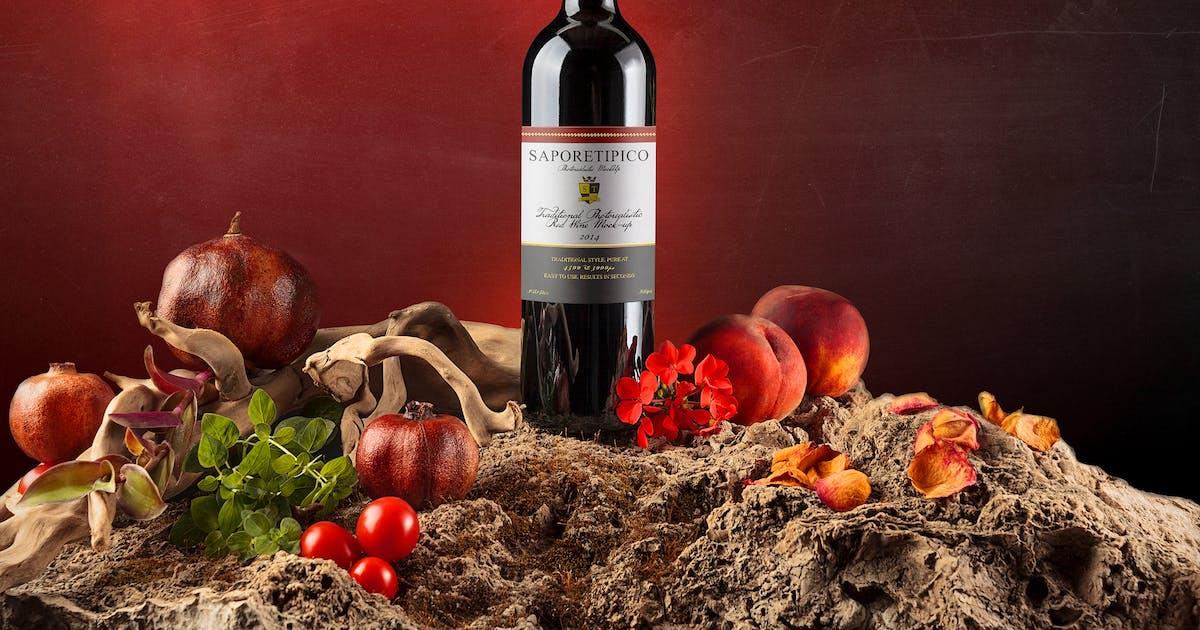 Download Sapore Tipico - Wine Branding Mock-ups by BlackNull