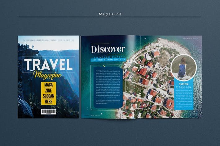Thumbnail for Travel Magazine