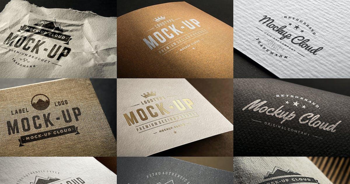Download Logo Mockup Set by Genetic96