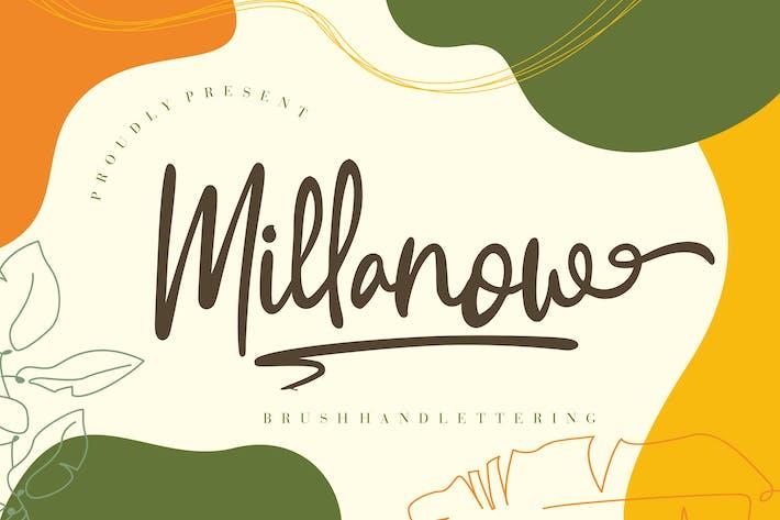 Thumbnail for Millanow Brush Handlettering