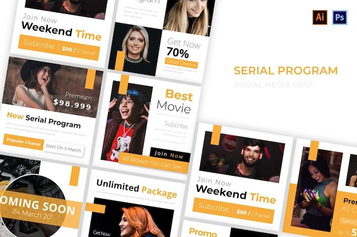 Thumbnail for Serial Program Social Media Post