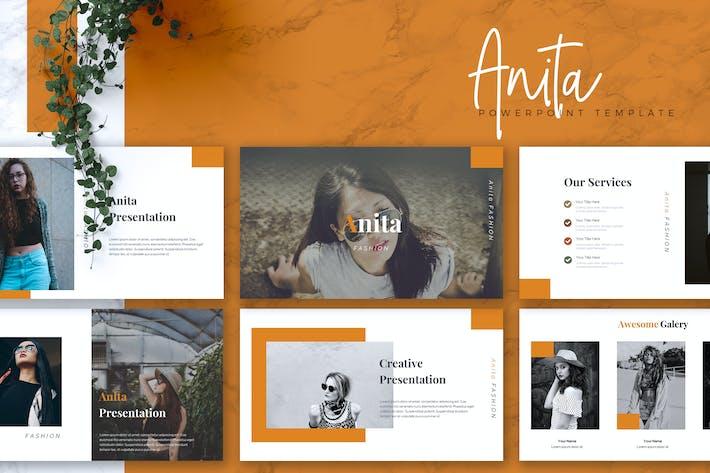 Thumbnail for ANITA - Fashion Powerpoint Vorlage