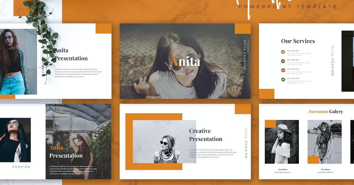 Download ANITA - Fashion Powerpoint Template by RahardiCreative