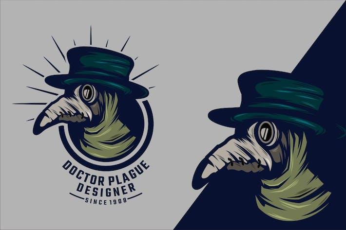 Thumbnail for Doktor Plague Logo Maskottchen