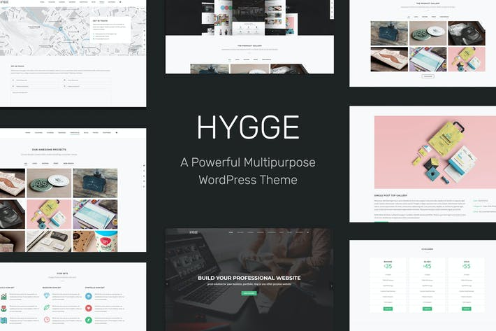 Thumbnail for Hygge - Multipurpose Single/Multi Page WP Theme