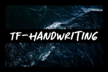 TF Escritura a mano